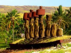 Easter Island at Easter