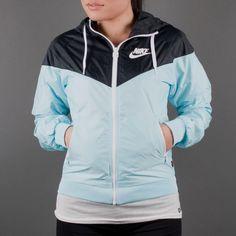 urbanpeople.com | Windbreaker Nike - Windrunner (glacier ice / black / white) 545908-488 purchase online