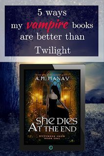 5 Ways My Vampire Books are Better than Twilight #paranormal