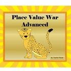 PLACE VALUE WAR-ADVANCED! 	  A fun way to learn place value from the hundredths to the millions.  In Place Value War-Advanced students learn to rea...