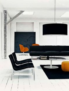Piero Lissoni Collection Fritz Hansen, Intressting mix of glamour and more rustik