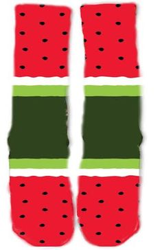 Watermelon Socks