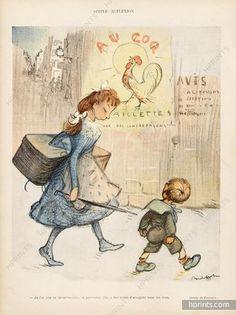 Francisque Poulbot 1904 Children