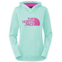 The North Face Favorite Pullover Hoodie - Women's - Light Green / Pink
