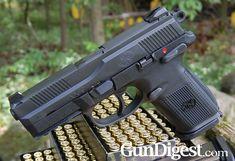 In this Gun Digest handgun review, Mark Kakkuri reviews the FNH FNX 9mm – an American-made pistol from a venerable European gunmaker.