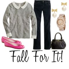 """""""Fall Look"""" by kristy628k on Polyvore"""