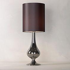 Buy John Lewis Anais Table Lamp, Grey online at JohnLewis.com - John Lewis