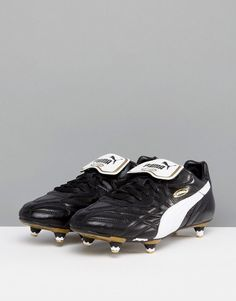 19a2428c7cd Puma King pro soft ground Soccer boots in black 17011401