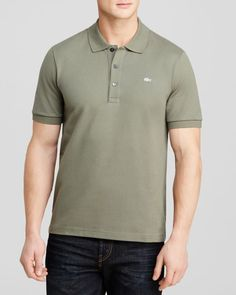 Lacoste Solid Luxe Slim Fit Polo