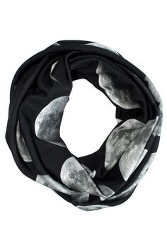 Moon Phase Circle Scarf <3