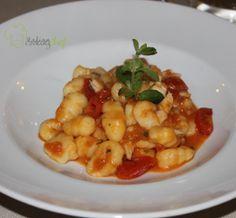 Video recipe Potato gnocchi and fish ragout | Video ricetta Gnocchi con ragù di pesce di lago