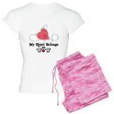 Wow Pajamas   Wow Pajama Set   Wow PJs - CafePress
