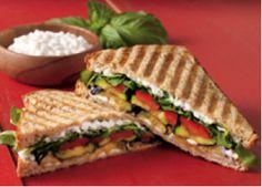 Roasted Veggie Sandwich from Daisy Brand Health