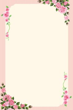 Background Psd, Pink Floral Background, Flower Background Images, Invitation Background, Floral Border, Frame Border Design, Boarder Designs, Page Borders Design, Boarders And Frames