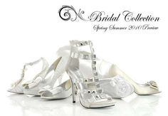 The Faith Spring and Summer 2010 Bridal Collection #shoes trendhunter.com