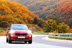 This is why we go on a drive in autumn🍁 - 산등성이 따라 달리며 즐기는 단풍놀이 - #mapleleaves #viewing #colorful #ridge #mountain #loveit #keepgoing #autumn #fall #travel #drive #carsofinstagram #car #SUV #SPORTAGE #KIA