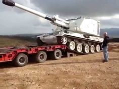 the wrong way to load a tank Military Vehicles, Trucks, Cars, Army Vehicles, Truck, Autos, Track, Automobile