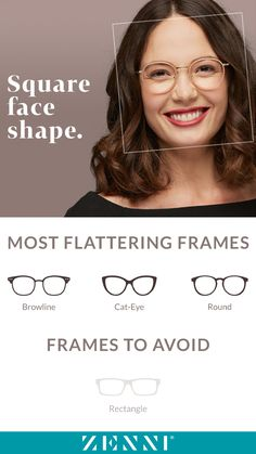 2cd1537896 8 Best Glasses by Face Shape images