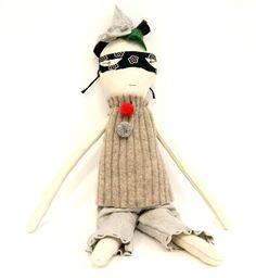 Boy Rag Doll by Jess Brown    treehousekidandcraft.com
