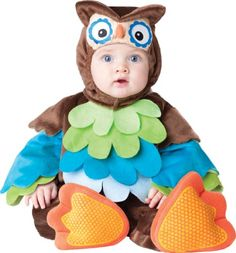 InCharacter Costumes Baby's What A Hoot Owl Costume,  Brown, X-Small InCharacter http://www.amazon.com/dp/B00FN8MZZM/ref=cm_sw_r_pi_dp_S1dhwb0999C2W