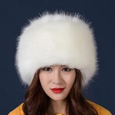 2018 New Arrival Wedding hats for Women Winter Faux Fur White Black Wedding Party Hats Lady Warm Classic Casual Style Snowboard Wedding, Ski Wedding, Wedding Hats, Ear Cap, Hat Stores, Outdoor Hats, Bridal Hat, Ski Hats, Black Party
