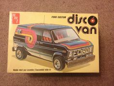 AMT plastic model kit Ford Custom Disco van