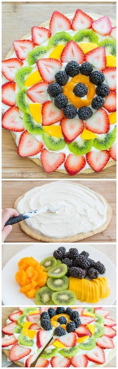 This Easy Fruit Pizz