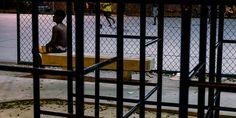 Terrain de jeux. Favela Cidade de Deus, Rio de Janeiro, Brazil. May 2014...©Dom Smaz Home Decor, City Of God, Slums, Rio De Janeiro, Children Playground, Decoration Home, Room Decor, Interior Design, Home Interiors