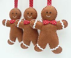 Gingerbread Man Felt Hanging