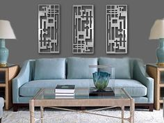 Metal Wall Art Decor Abstract Contemporary By Coldedgegallery 645 00