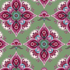 Amor-cranberry and sage :: Bella Flora by Lily Ashbury