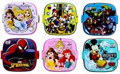 Laxmi Collection Perpetual Blisstm Fancy Double Layer Disney Theme Square Lunch Box for Kids,Gifts for - Pack of 6 Drawing Books For Kids, Basic Sketching, Collection Disney, Plastic Lunch Boxes, Long Books, Disney Theme, Lovers Art, Gifts For Kids