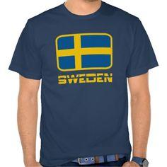 #Sweden Tee Shirts