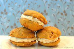 Butterscotch Pumpkin Whoopie Pies on MyRecipeMagic.com