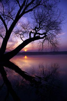 sunset via Tumblr
