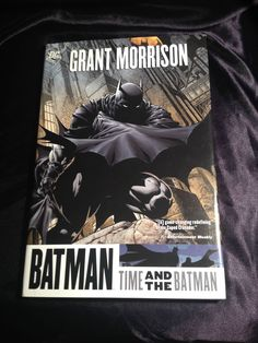 Batman: Time and the Batman DC Hardcover Graphic Novel Grant Morrision