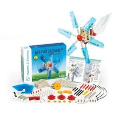 Thames & Kosmos alternative energy and environmental science wind power... To teach about clean energy-wind energy