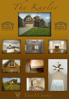 Photos of the Kaylee plan by John Maher Builders. Home plans are built in Wades Grove in Spring Hill TN. Contact Van Woody of John Maher Builders & Exit Realty King. Business 615-302-3213 or direct at 615-403-7072