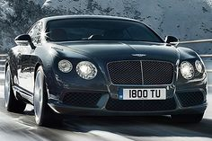 Bentley Continental GT. Love it