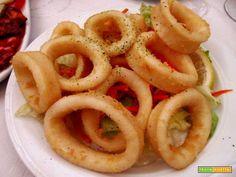 Calamari fritti  #ricette #food #recipes