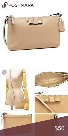 Spotted while shopping on Poshmark  Coach Darcy bow crossbody!  poshmark   fashion   ca58243851