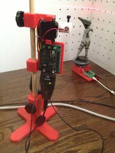 Automated 3d Laser scanner platform by downeym.
