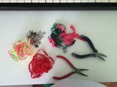 materiales para hacer estas hermosas pulseras