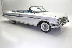 Cars - 1961 Chevrolet Impala Chevrolet Impala, Chevy, Toys For Boys, Boy Toys, Old Cars, Classic Cars, Vans, Impalas, Vehicles