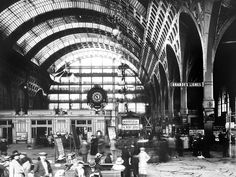 La gare d'Orsay vers 1905 / Collection Clive Lamming
