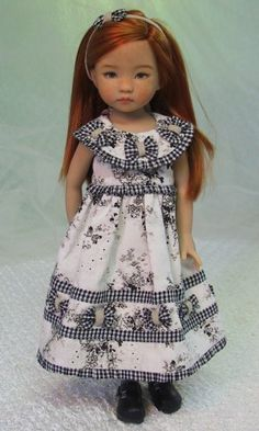 MHD Designs - Simplicité - Fashion Pattern for Dianna Effner's 13 Inch Little Darlings