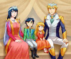 The Royal Agreste Family by piku-chan on DeviantArt