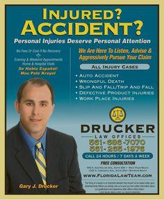 Drucker Law Offices  7777 Glades Rd #210  Boca Raton, FL 33434  (561) 483-9199  http://www.floridalawteam.com/