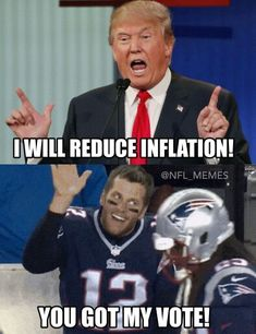 Haha... the real reason Brady is voting for Trump