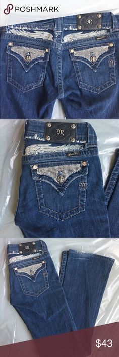 Miss me jeans sz 28 x 32 boot Pre loved great condition, some wear at bottom Miss Me Jeans Boot Cut